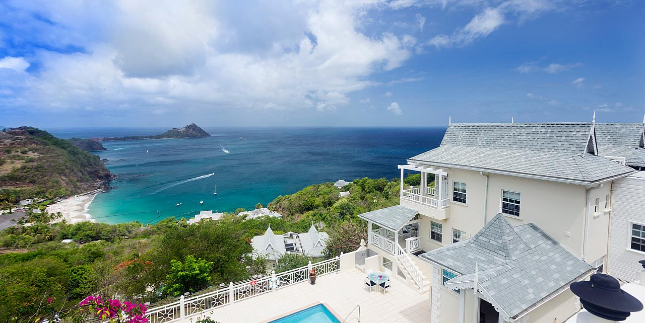 Brise de Mer 4 bedroom villa in St Lucia