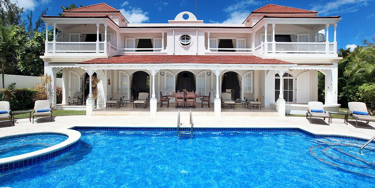 Barbados, Fosters House & Pool