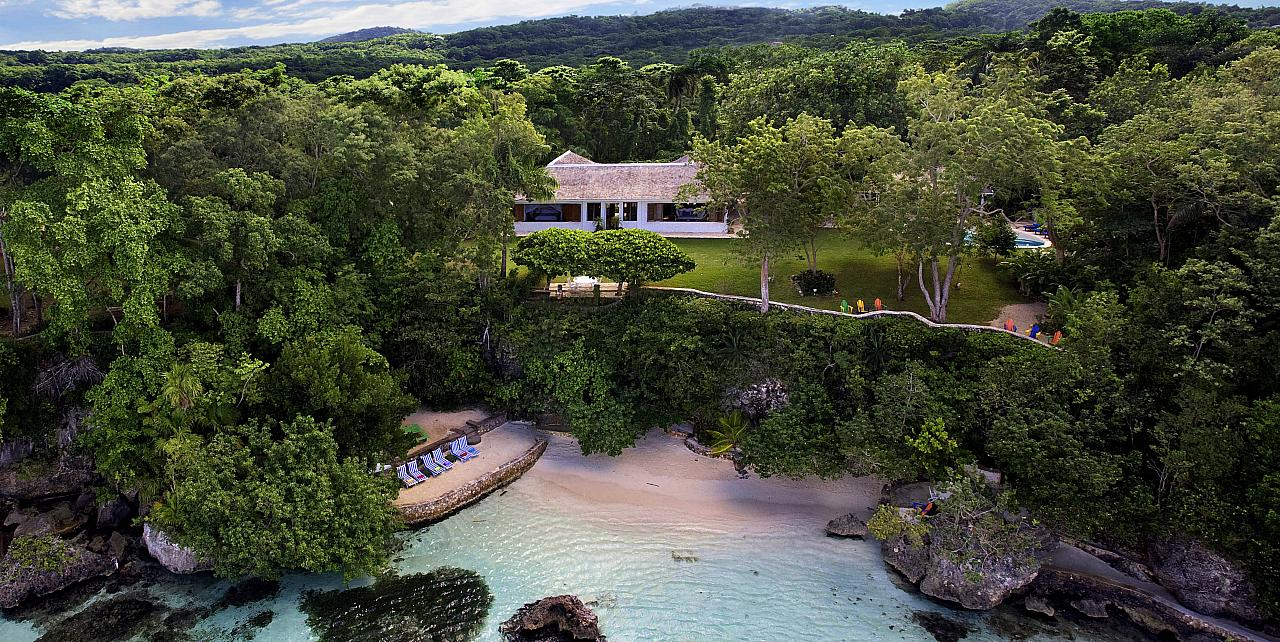Golden Eye Jamaica Fleming Villa home of James Bond