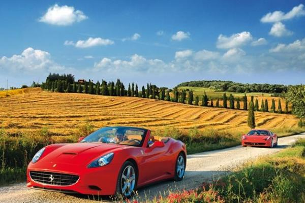Bespoke Ferrari tours through Italy's stunning landscapes
