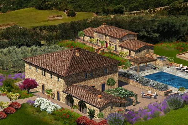 Tuscan Farm with Own Vineyard - Farm San Gaetano